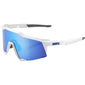 100% Speedcraft HD Multilayer/Hiper Glasses Tall matte white